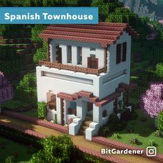 Architecture Minecraft, Minecraft City Buildings, Minecraft House Plans, Minecraft Mansion, Minecraft Cottage, Easy Minecraft Houses, Minecraft Interior Design, Minecraft House Tutorials, Minecraft Room