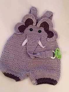 Crochet Baby Booties Animal Coveralls pattern by Melissa R. Crochet Bebe, Crochet For Boys, Love Crochet, Knit Crochet, Crochet Shoes, Baby Patterns, Knitting Patterns, Crochet Patterns, Sewing Patterns