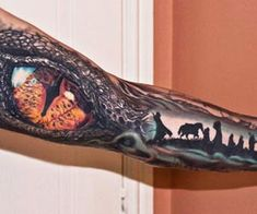 Lord of the rings tattoo by Jurgis Mikalauskas