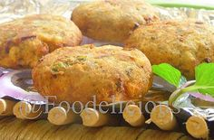 Smoked Plantain Kebab with Cream Cheese Stuffing…Awadh meets West