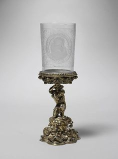 Standing cup  Artist: Wolff Christoff Ritter (master 1617, mint–master 1622, died before 1660) Date: first half 17th century Culture: German (Nuremberg) base with later, possibly Austrian, beaker