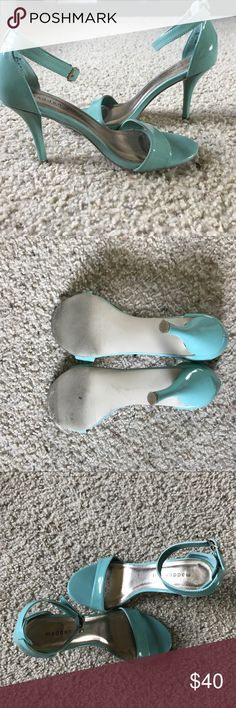 Steven Madden Pumps Worn 1, size 7.5 women's, Steve Madden mint color pumps! Steve Madden Shoes Heels