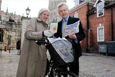 Gloucester's Beryl Walker takes record as world's oldest papergirl