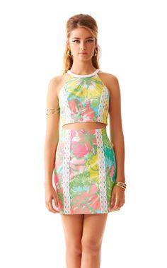 Vanna Crop Top & Skirt Set | 91800 | Lilly Pulitzer