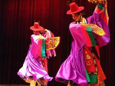 Mudang-chum Shaman Dance at the National Folk Museum of Korea