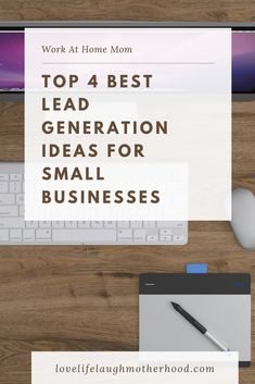 Top 4 Best Lead Generation Ideas For Small Businesses. How to use your mailing lists, social media, ads, and master data management tools to generate leads. Email Marketing Services, Email Marketing Strategy, Online Marketing, Social Media Marketing, Digital Marketing, Sales Strategy, Facebook Marketing, Inbound Marketing, Marketing Ideas