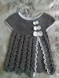Watch This Video Beauteous Finished Make Crochet Look Like Knitting (the Waistcoat Stitch) Ideas. Amazing Make Crochet Look Like Knitting (the Waistcoat Stitch) Ideas. Crochet Toddler Dress, Baby Girl Crochet, Crochet Baby Clothes, Crochet For Kids, Crochet Summer, Crochet Ideas, Crochet Patterns, Knitting Patterns, Pull Crochet