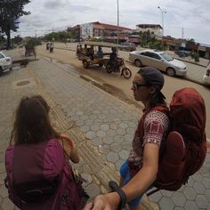 Looking for a new place to sleep in Siem Reap  #backpackerlife #siemreap #cambodia . . . . . . #goprohero4 #couple #backpacker #GoPro #travelgoals #relationshipgoals #selfie #goprooftheday #photooftheday #wanderlust #travel #travellingtogether #travelling