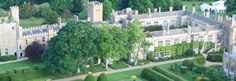 Sudeley Castle in the Cotswolds, UK.  Burial place of Katherine Parr, last wife of King Henry VII.  Parts of this amazing estate date to the 15th century!