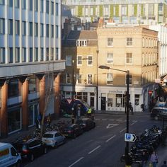 Nice view out of the office #london #berwickstreet #photography