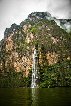 Sumidero Canyon near San Cristobal de Las Casas in Mexico by Travis White