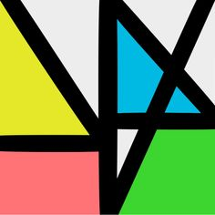 "Cover art for the 2015 New Order album ""Music Complete"", by Peter Saville"