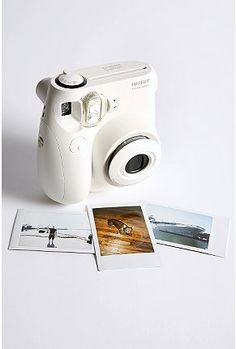 new polaroid camera at Urban Outfitters