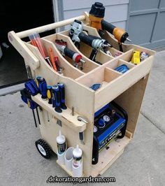 Woodworking Furniture How To Paint .Woodworking Furniture How To Paint Garage Tool Storage, Workshop Storage, Garage Tools, Garage Organization, Car Storage, Storage Cart, Organization Ideas, Lumber Storage, Woodworking Organization