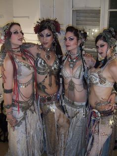 "The best of the best in various ""fusions"" of modern belly dance. Mardi Love, Sharon Kihara, Zoe Jakes, and Rachel Brice - each infusing their own take on the art.  Incredible...."