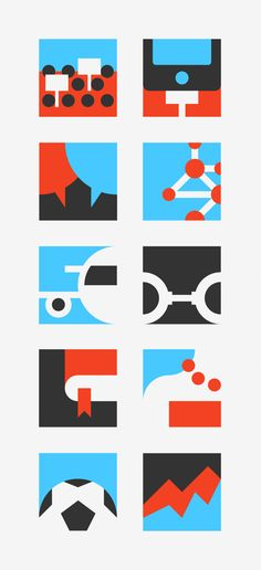 PITCH ME — ICONS by Forma and Co , via Behance