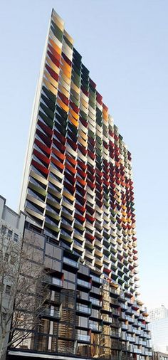 A'Beckett Tower, Melbourne designed by Elenberg Fraser Architects