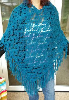 Free Knitting Pattern for Oak Wood Poncho