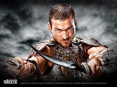 #AndyWhitfield as #Spartacus in #Starz Spartacus: #BloodandSand  (Click pic for larger image)