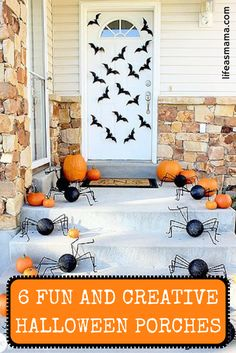 Halloween may only last a night, but that doesn't mean you have to pass up the chance to flex your decorating chops. Let these amazingly creative Halloween themes front porches scare some inspiration into you.