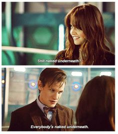 """I just watched The Time Of The Doctor and after it was over I ran downstairs wailing. """"MATT SMITH IS GOOOONNNEEE! WHAT IS LIFE?!?!?!"""" And that went on for at least 30 minutes..."""