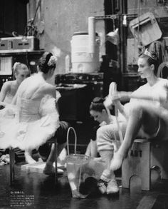 American Ballet Theatre Dancers, Including Gillian Murphy, Julie Kent, and Jose Manuel Carreño, by Anne Menke for Vogue Nippon