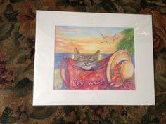 Cat in Key West Bag - Elena Proper