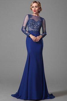 Rochii de seara albastre pentru mame soacre Royal Blue, Beautiful Dresses, Blue And White, Formal, Handmade, Style, Fashion, Nail Colors, Dressmaker