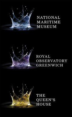 National Maritime Museum, London  (full suite of rebranded logos for the three museums on site)