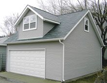 1000 images about custom garages on pinterest custom for Reverse gable garage