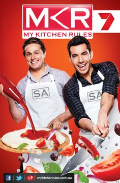My Kitchen Rules – Series Three by Jamie Carbery, via Behance