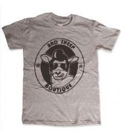 Bad Sheep Boutique's own brand unisex t-shirt. T-shirt Logo, Boutique Logo, Great Logos, Print Design, T Shirt, Mens Tops, Fashion, Tee, Moda