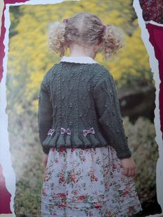 GORGEOUS Textured Peplum Sweater by Patons - Patons #337, Adventure Knits