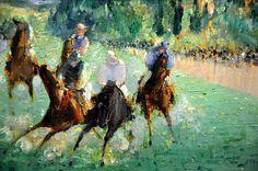 Édouard Manet, At the Races, 1875.