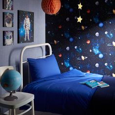 Arthouse Cosmos Space Planets Earth Wallpaper - http://godecorating.co.uk/arthouse-cosmos-space-planets-earth-wallpaper/