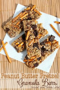 Share it! Anything peanut butter & pretzel has my name all over it! Like I have this salty/sweet addiction that is pretty hard to ignore. Just take a look at my Caramel Pretzel Magic Bars,Peanut Butter Chocolate Chip Pretzel Bars, & Caramel Pretzel Chocolate Chip Cookies to name a few. These Peanut Butter Pretzel Granola …