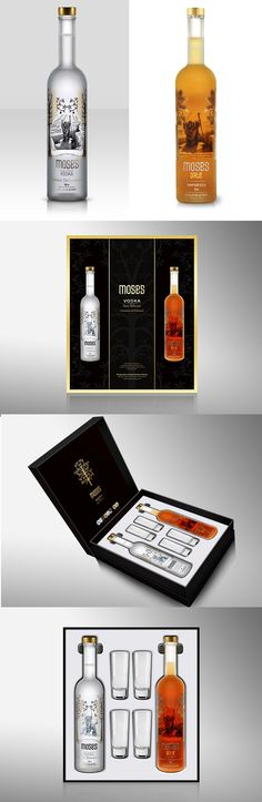 Moses Kosher Vodka in Plain and Date Flavored.