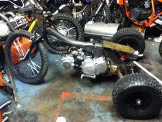 Gas Powered Drift Trike Build!!