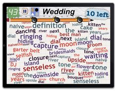 """Find 10 things in the category """"Wedding"""""""