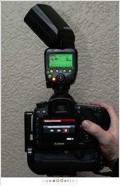Bij de Canon 5Dmk3 en Speedligth 600EX-RT kunnen we de flitser vanuit het menu van de camera bedienen. Hier is het menu voor hi-speed flits zichtbaar. Natuurlijk kan dit ook rechtstreeks op de flitser ingesteld worden.