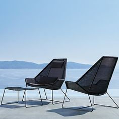 Breeze Outdoor Lounging Collection by Cane-line at Lumens.com