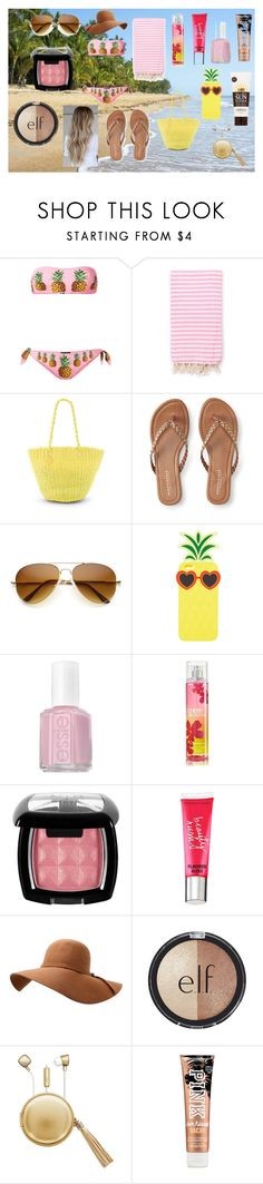 """""""Spring Break"""" by holly32196-1 on Polyvore featuring Dolce&Gabbana, Turkish-T, Salinas, Aéropostale, Charlotte Russe, Essie, NYX, Victoria's Secret, e.l.f. and The Macbeth Collection"""