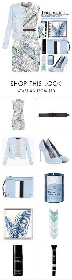"""08.01.17"" by malenafashion27 ❤ liked on Polyvore featuring Vionnet, Billabong, Balmain, Miu Miu, rag & bone, Chesapeake Bay Candle, Barclay Butera, Byredo and GHD"