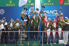 LMP1-Le-Mans-2018-Podium ALONSO EM BUSCA DA  TRIPLISE COROA - ALONSO