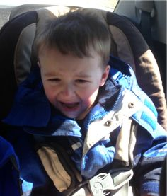 This guy takes a photo everytime his son cries and posts why. HILARIOUS