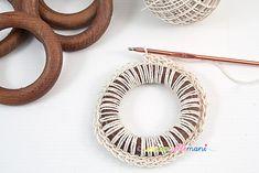 riciclo anelli tende