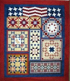 We invite you to join the cause and make an American patchwork quilt for maybe a special warrior/veteran that you may know or one that you don't know but would like to thank.