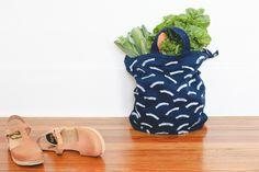 Make This: Linoleum Block DIY Stamped Tote Bag + DIY Kit