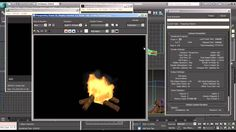 FumeFX Campfire Tutorial - 3DS Max Tootorial