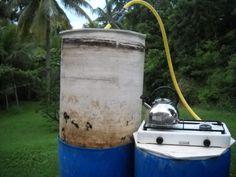 Construction et fonctionnement d'un méthaniseur de 220 litres